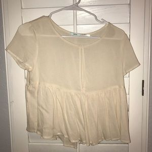 Urban Outfitters Key Hole Babydoll crop top
